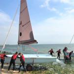 UoK-Woche-2-Vogelkoje-segeln-und-Wassergewoehnung-Suedkap-surfen-4