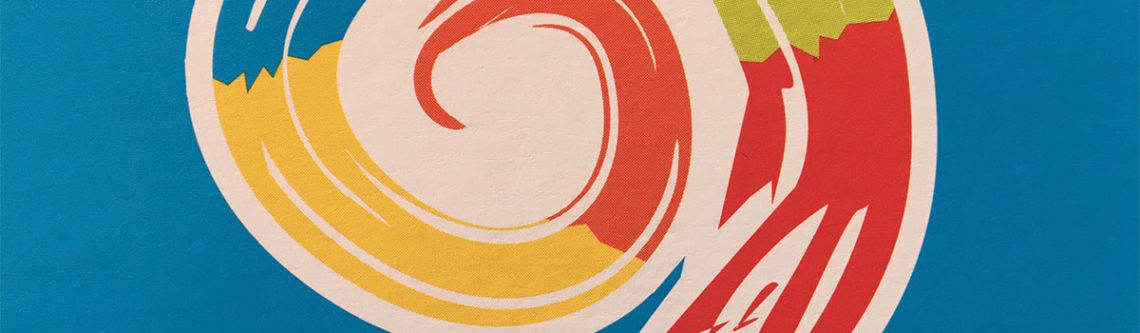 farbige Spirale